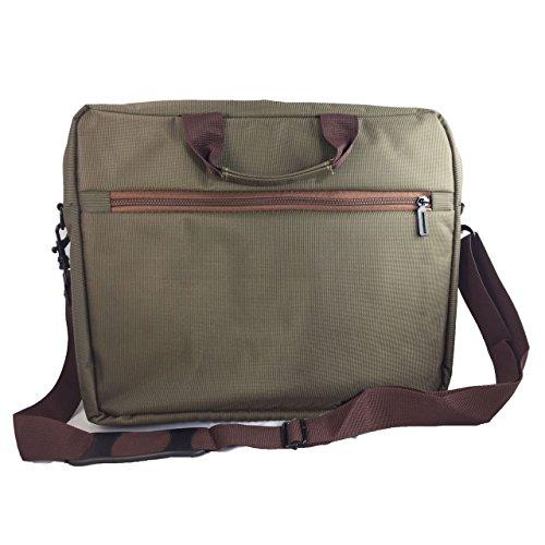 Laptoptasche fr HKC NT14W DE Businesstasche Aktentasche Notebooktasche mit Schultergurt LB Grn Aktentaschen