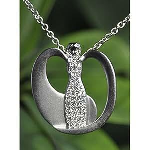 Amulette Yin de Yang Ange