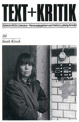 Sarah Kirsch (TEXT+KRITIK 101)