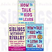 How to Talk So Kids and Teens Will Listen Parenting 3 Books Collection Set