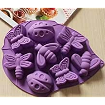 Silicone Soap Ice Cube Tray Mould Mold