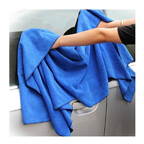 ColorMixsEssiccazione-auto-asciugamano-in-microfibra-Extra-Large-Car-asciugamani-Car-Wash-di-pulizia-Manutenzione-auto-della-casa-della-cucina-casa-polacca-Lavare-panni-di-pulizia-160-60cm