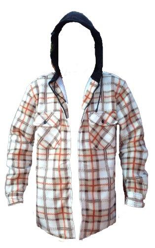 Boston - Sweat-shirt à capuche - - Manches longues Homme - - WHITE SNOW BEIGE - Large