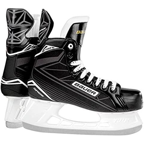 Bauer – Patines Supreme S140, color multicolor, tamaño 4