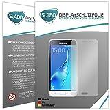 Slabo 4 x Pellicola Protettiva per Display per Samsung Galaxy J3 (2016) No Reflexion Opaca