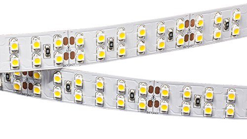 LED Streifen RT2-5000 24V 96W weiß (smd3528, 1200LED) RL#008771 96W IP20 (EEK: A+) Dimmbar weiß für Aluminium LED Profil / Profile
