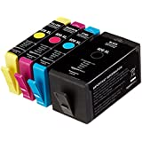 AmazonBasics - Pack combinado de cartuchos de tinta remanufacturados para HP920XL