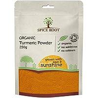 Polvo de cúrcuma orgánico 250g - Orgánica certificado, calidad superior