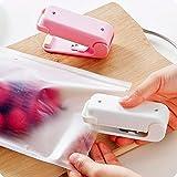 Interesting® Mini Portable Handy Plastic Bag Sealer Sealing Machine Sealer Food Packing Home Tool - White