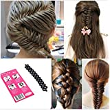 Hair Curler French Hair Roller Clip With Hook Twist Styling Braiding Tool