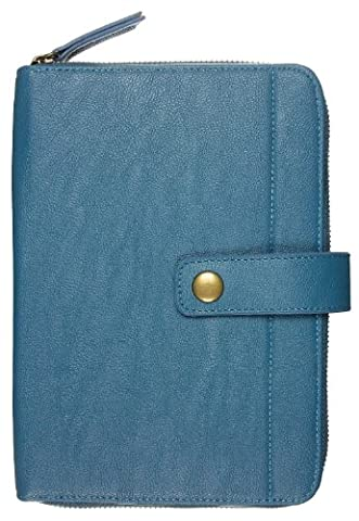 Caseit Universal Zip Case Cover for 7 inch Tablet Compatible with iPad Mini, Google Nexus 7, Samsung Galaxy Tab 3 7.0, Kindle Fire HD 7 inch and Tesco Hudl - Peacock