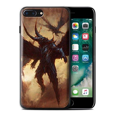 Offiziell Chris Cold Hülle / Case für Apple iPhone 7 Plus / Ungeheuer/Troll Muster / Wilden Kreaturen Kollektion Flügel von Nox