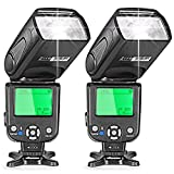 Neewer® Two I-TTL Flash Speedlite for Nikon DSLR Camera Such as D7200 D7100