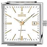 Dugena Herren-Armbanduhr FESTA Quadra Automatik Analog Automatik Edelstahl 7090321 - 2