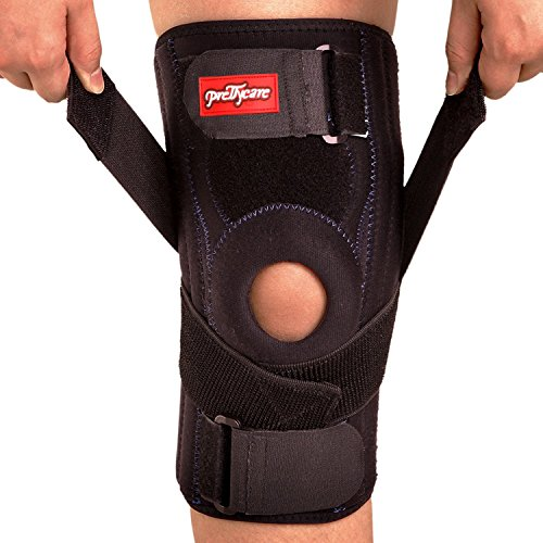 M (16.5\ -18.5\ ) : PrettyCare Knee Brace Support ( Professional Protection ) Adjustable Patella Braces Protector & Knee Cap Band Stabilizer For Arthritis, Meniscus Tear, Basketball, Exercise ( 16.5