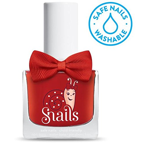 SNAILS Love Is Vernis à l'Eau Rouge 10,5 ml