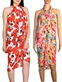 Combo of Two beach wear sarong and pareo for women