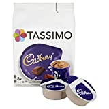 TASSIMO Cadbury Hot Chocolate Drink 8 discs, 8 servings (Pack of 5, Total 40 discs/pods, 40 servings)