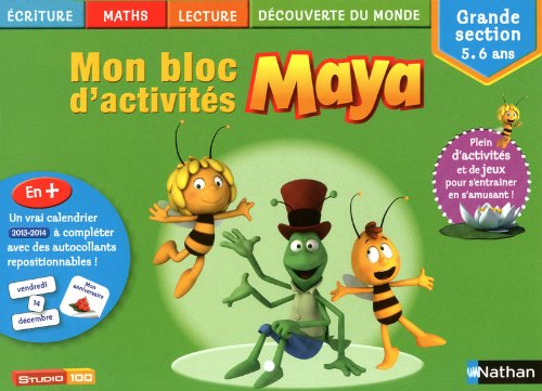 Mon bloc d'activités Maya GS