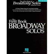 The First Book of Broadway Solos: Tenor