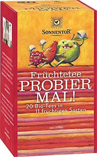 Früchtetee Probier mal! bio Beutel (47.6 g) - Kornblume-extrakt