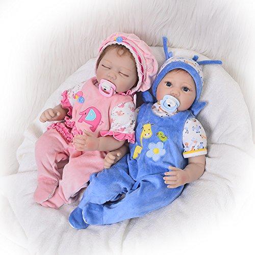 KEIUMI 55,9cm réaliste Reborn Baby Doll souple en silicone garçon...