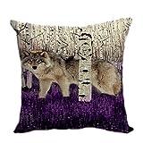 violetpos funda de cojín decorativo sofá cojín funda Auto Fundas de cojín fundas de...