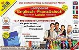Lernpaket Englisch, Französisch, Italienisch, Latein, Spanisch. 12 CD-ROMs für Windows ab 98 -