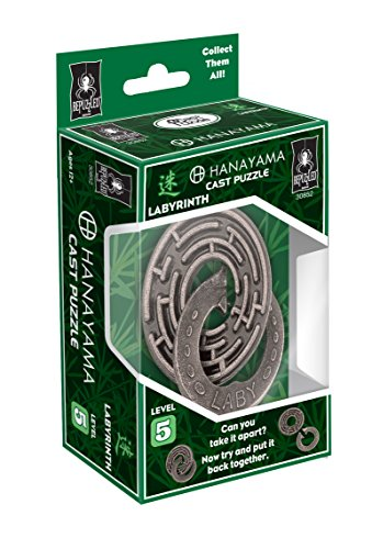 Universidad Juegos Hanayama Cast Puzzles,, 11.93X 7,62X 4.44cm