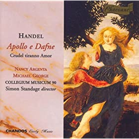Apollo e Dafne, HWV 122: XVI. Recitativo: Sempre t'adorero! (I shall always adore you!) (Apollo, Dafne)