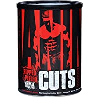 Universal Nutrition Animal Cuts 42 Packs Fat Burner Weight Loss/Energy - 02810