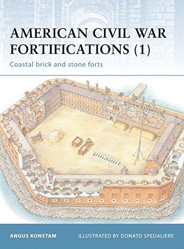 American Civil War Fortifications (1): Coastal brick and stone forts: Coastal Stone Forts Bk. 1 (Fortress)