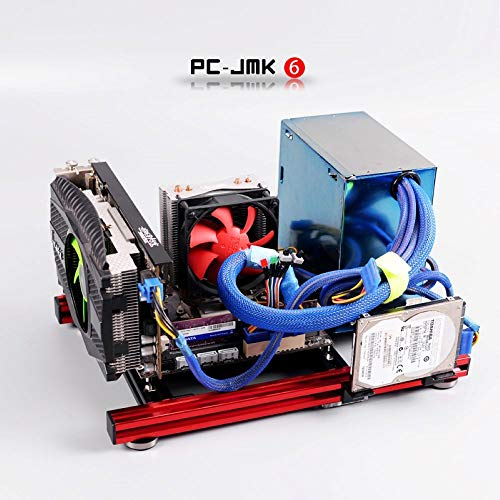 ITX MATX ATX PC Testbank Computer Open Frame Overclock Air Case Mini Aluminium HTPC PC Support Grafikkarte Mehrfarbig ATX