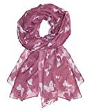 UK SELLER!!! Extensive range of Celebrity Style Ladies Long Scarves, Wraps, Shawls-ROSE BUTT