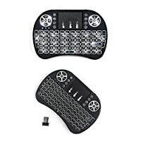 Backlight USB wireless mini Keyboard touch For All - I8