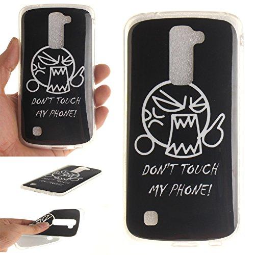 Guran® TPU Silikon Hülle für Apple iPhone 7 (4,7 Zoll) Smartphone Gemalt Schutzhülle Cover-Windspiele color a29