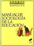 Manual sociología educación Letras