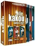 Coffret Elie Kakou 3 DVD : Au point virgule / A l'Olympia déjà ! / Au cirque d'hiver