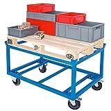 Rahmenroller / Palettenroller, LxBxH 1220x820x775 mm, Tragkraft 500 kg