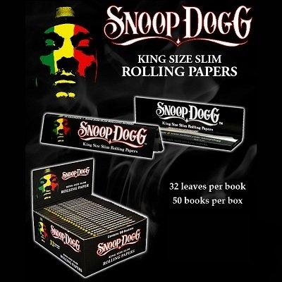 Snoop Dogg Cartine Misura Gigante Scatola da 50 Pacchetti