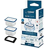 Ciano Aquarium Filtre–eau Cartouche Transparent SM/cf40x2