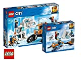 LEGO City Arktis-Erkundungstruck 60194 City Arktis-Expeditionsteam 60191