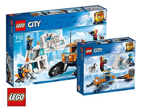 LEGO City Arktis-Erkundungstruck 60194 City Arktis-Expeditionsteam 60191