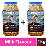 #6: Meat up Milk Flavour Biscuit, 500g (Buy 1 Get 1 Free)