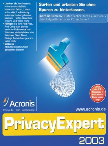 ACRONIS: Privacy...