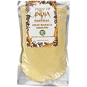 Pride Of India - Organic Indian Spice Packs 5