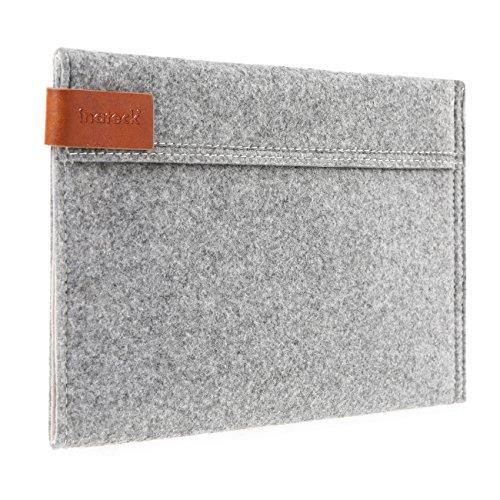3 Inateck Ipad (Inateck TPB-IM Naturfilz Schutztasche für Apple iPad mini/mini 3/mini mit Retina Display grau)
