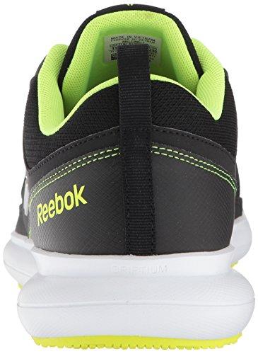 Reebok-Mens-Driftium-Running-Shoe-Blackash-GreySolar-yllw-7-M-US