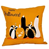 Halloween Home Decor HUYURI Monster Schädel Kürbis Dekokissen Fall Kissenbezug