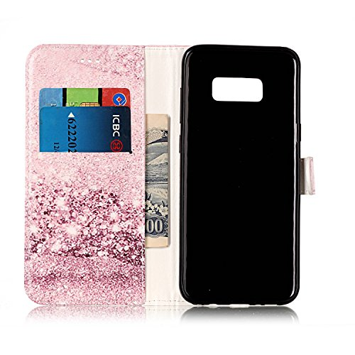 Cover per Samsung Galaxy S8 Plus Pelle ,Custodia per Samsung Galaxy S8 Plus,Sunroyal Marmo Flip Libro Stand Case Cover in PU Borsa e Portafoglio Wallet Ultra Slim TPU Silicon Gel Protezione Chiusura M Modello 10